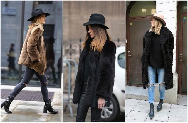 faux fur outfits