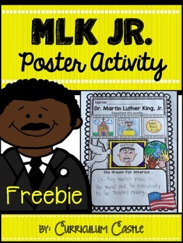 https://www.teacherspayteachers.com/Product/Martin-Luther-King-Jr-Poster-Activity-FREEBIE-1015734