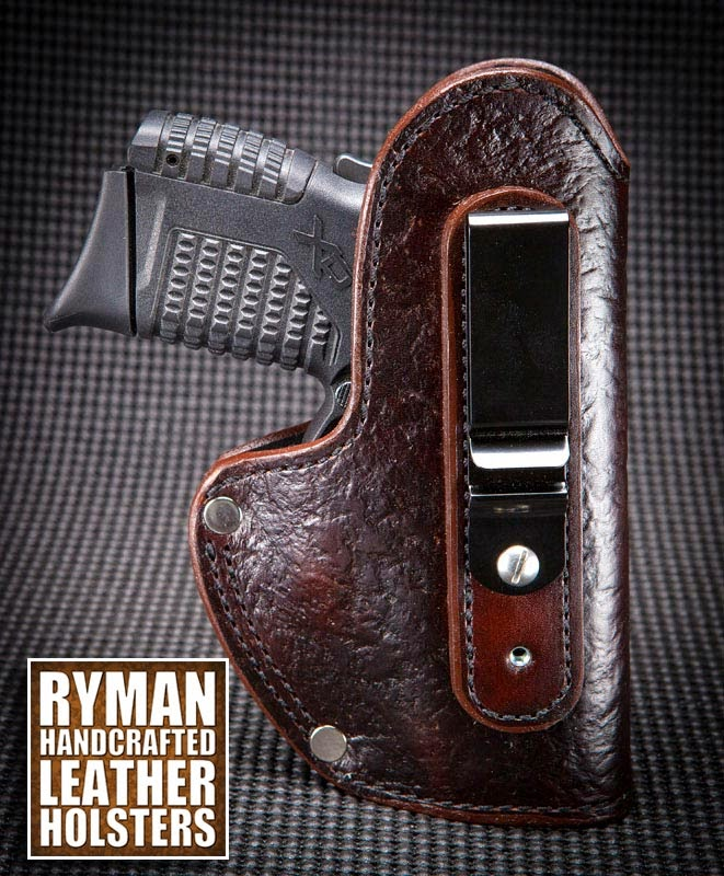 IWB holster, boot holster, leather holster, Ryman Holsters