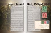 The April American Philatelist: Guam Island Mail (ap guam island mail)