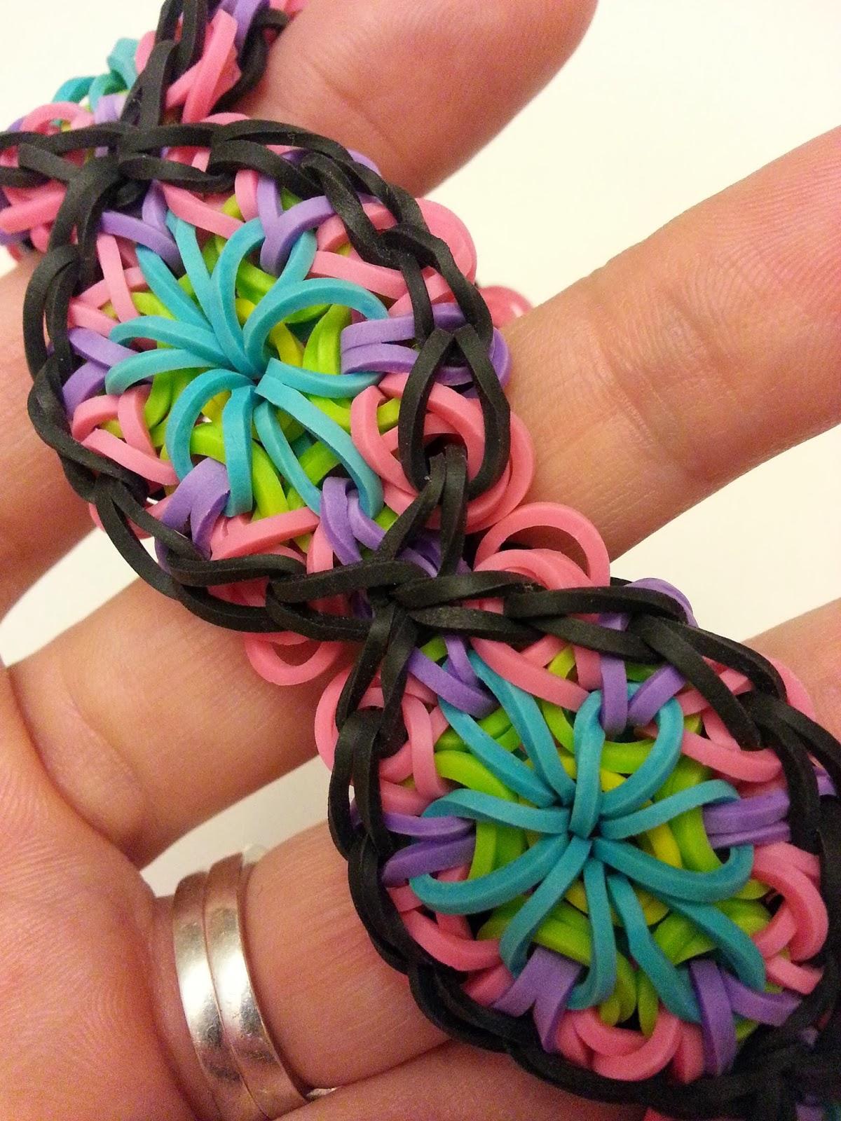 Rainbow Loom Patterns: Kaleidoscope Rainbow Loom Pattern
