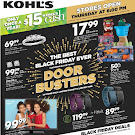 Kohl's 2015 Black Friday Ad: View Full Ad Flyer