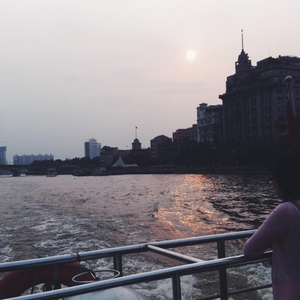Kitty N. Wong / Guangzhou Shamian Island Seine River