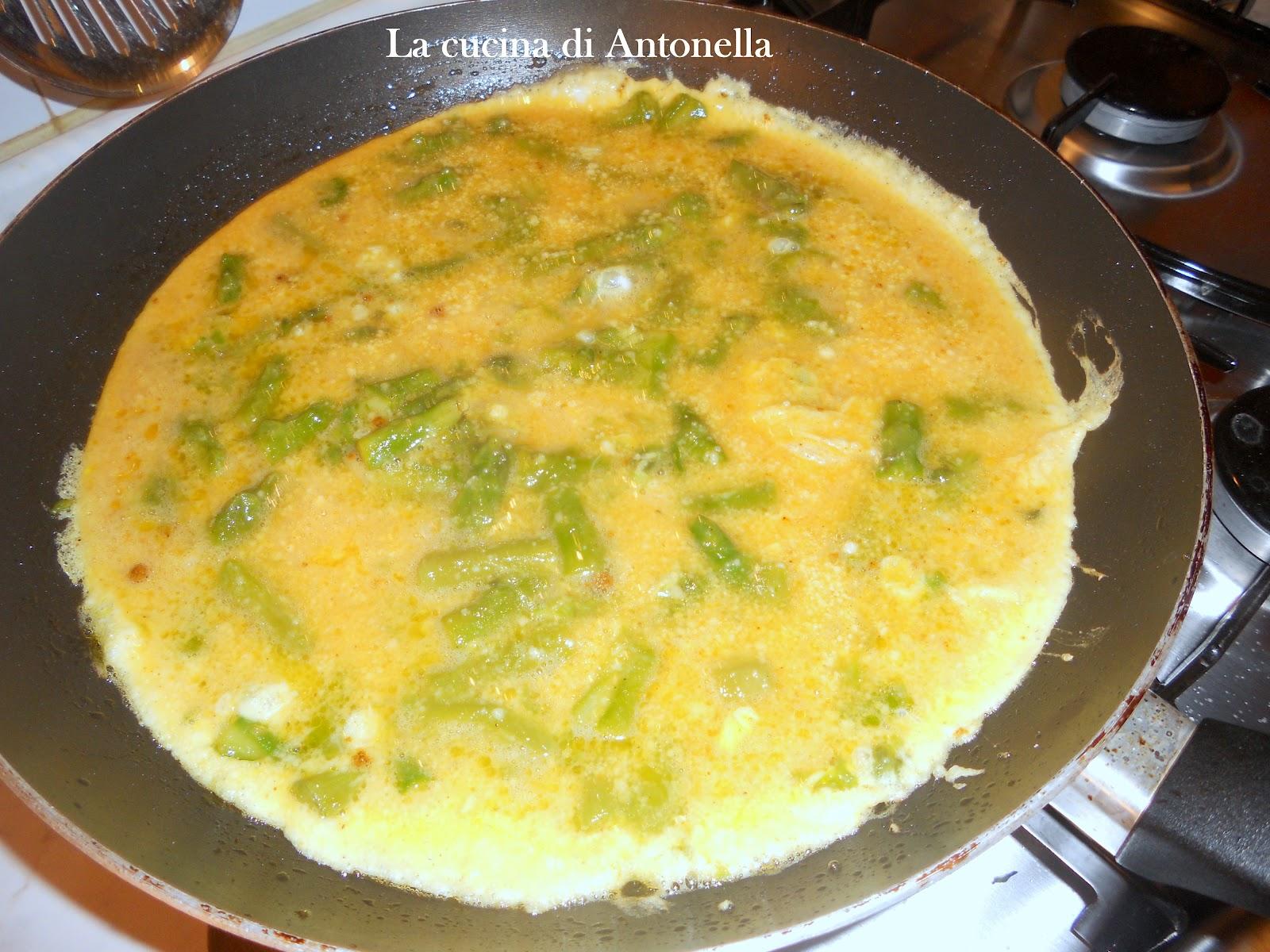 Frittata agli asparagi e curry da la cucina di antonella - La cucina di antonella ...
