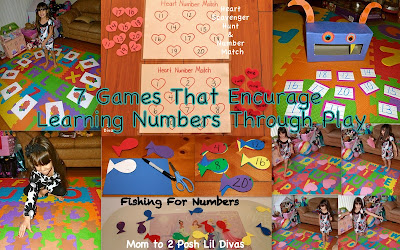 Learning numbers through play