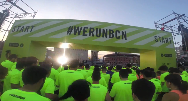 Cursa Nike Bombers 2015