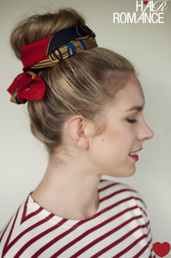 19 Ways To Take Your Top Knot Game To The Next Level