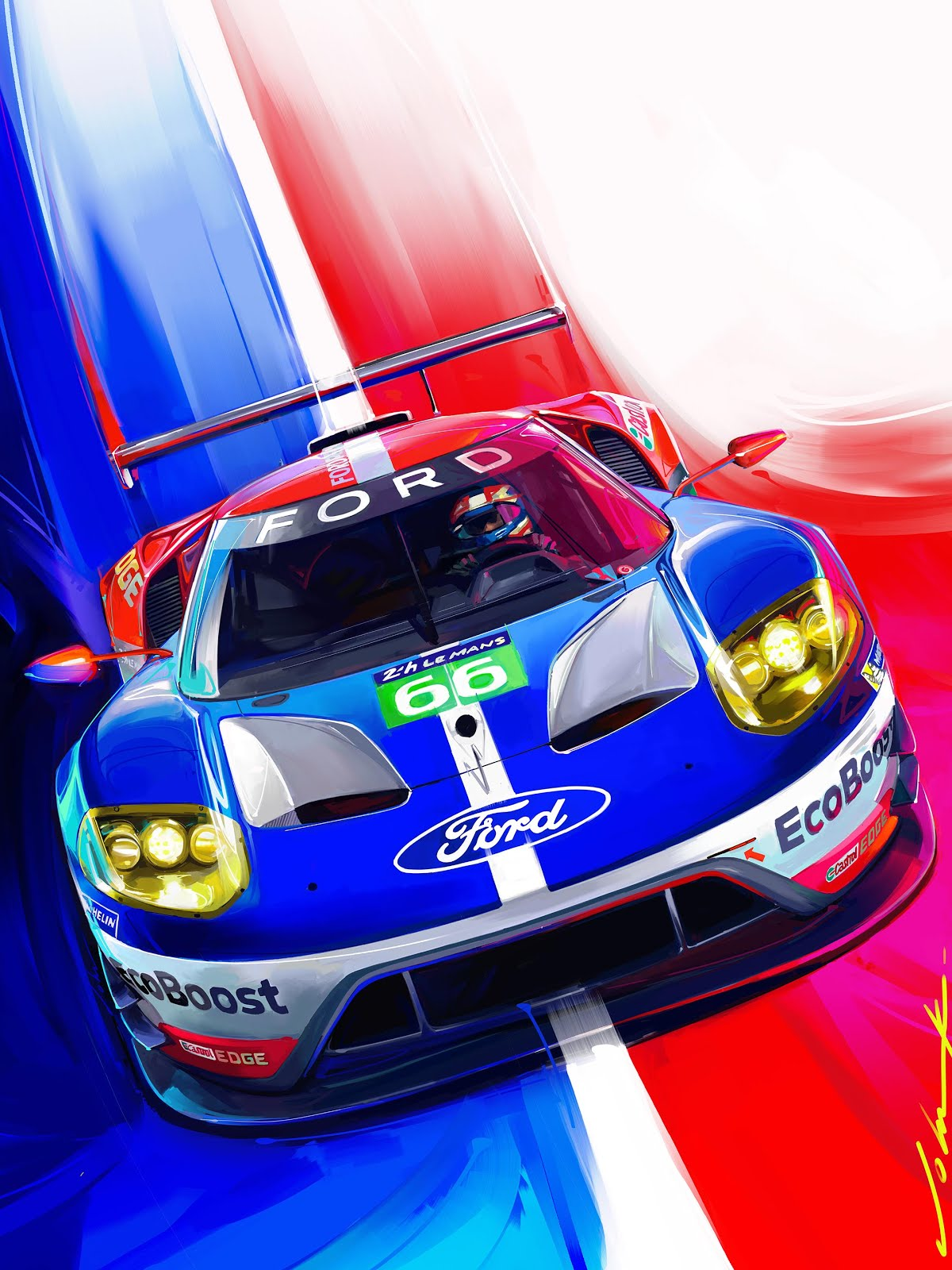 Fordgt Le Mans After  Years