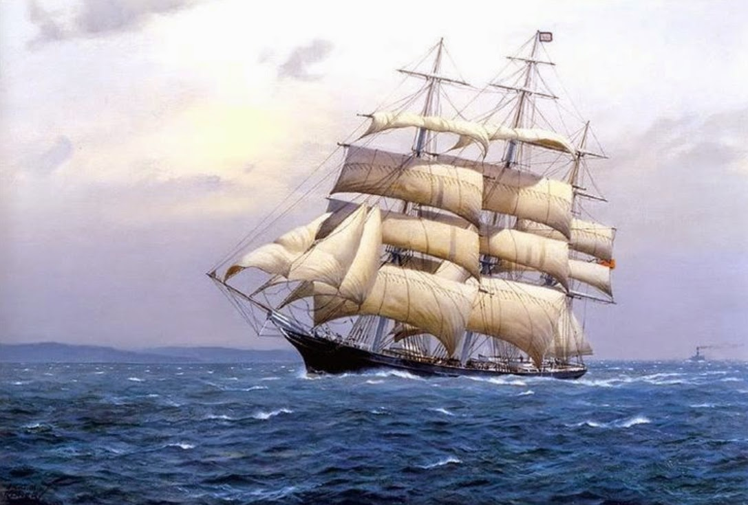 clipper ships Clipper, type of sailing ship, designed for speed long and narrow, the clipper had the greatest beam aft of the center the bow cleaved the waves and the ship.