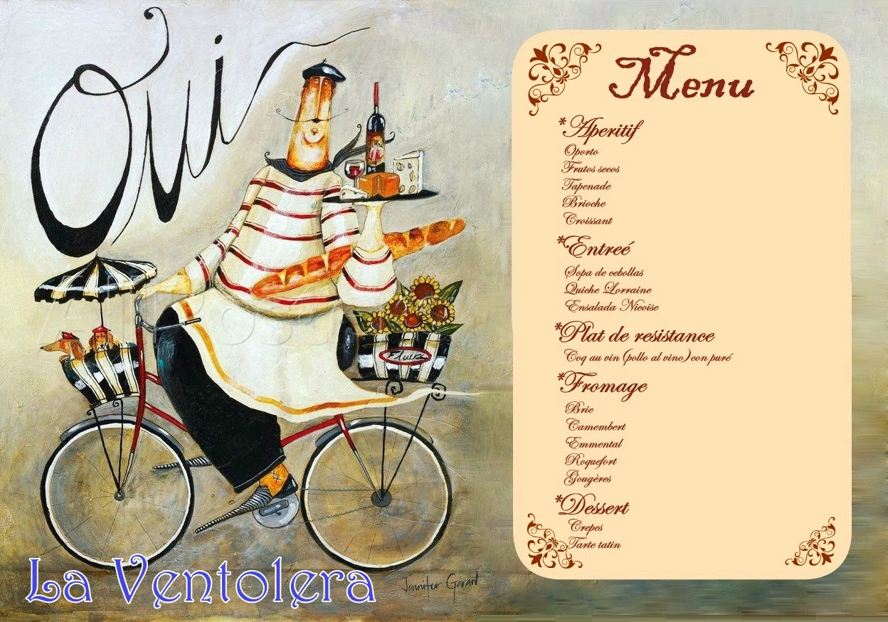 La ventolera goug res fiesta de francia for Lista de comida en frances