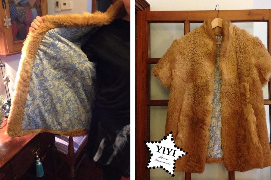 Customizar abrigo piel