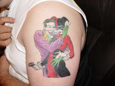 Harley quin harley quinn tattoos for Harley quinn and joker tattoo