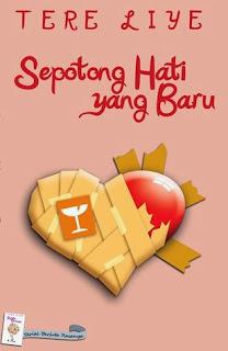 Jual Novel Tere Liye Surabaya | Sepotong Hati Yang Baru