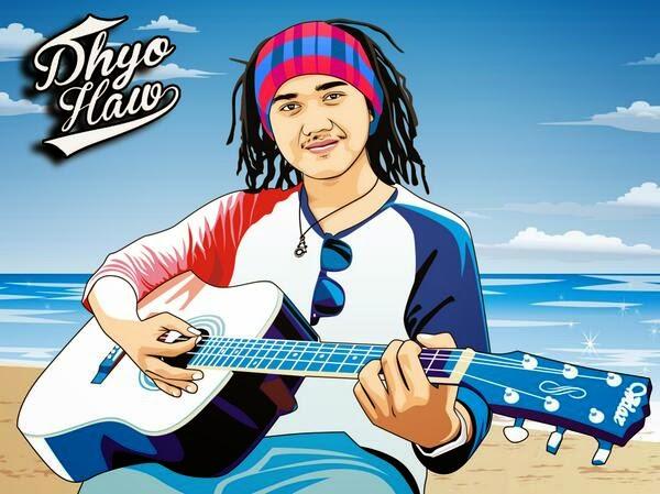 Lirik Lagu dan Kunci Gitar Lagu Dhyo Haw - Kecewa