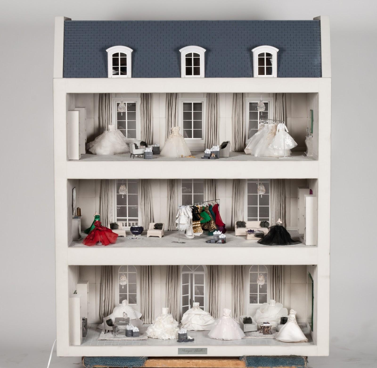 Modern mini houses for Piano casa delle bambole vittoriana