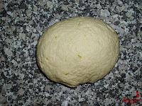 Roscón de Reyes de Trufa-masa roscón-masa hecha