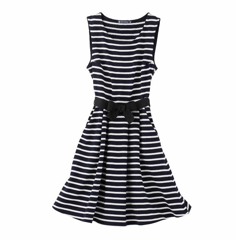 Petit Bateau breton stripe dress