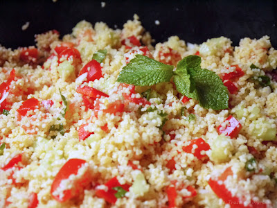 Taboulé sans cuisson (voir la recette)