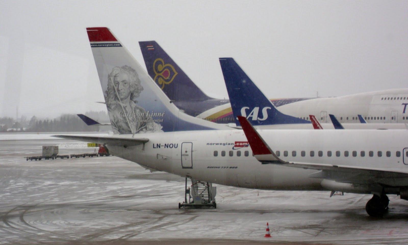 Stockholm Arlanda Airport, January 13, 2013