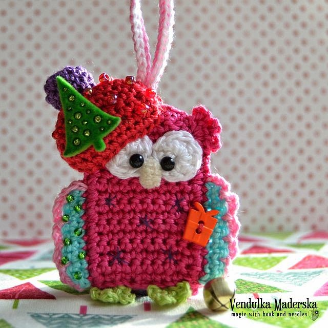 Christmas owl by VendulkaM