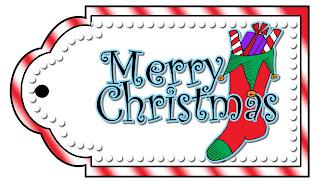 Merry Christmas free Tag