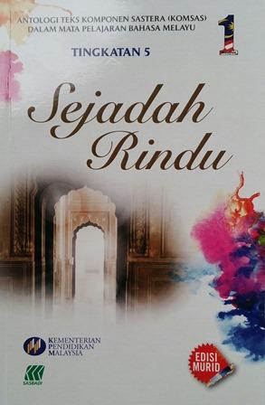 ANALISIS ANTOLOGI SEJADAH RINDU