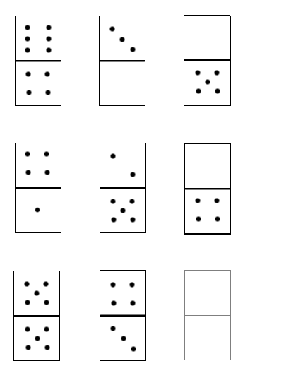 Fotos de fichas de domino imagui for Fichas de domino