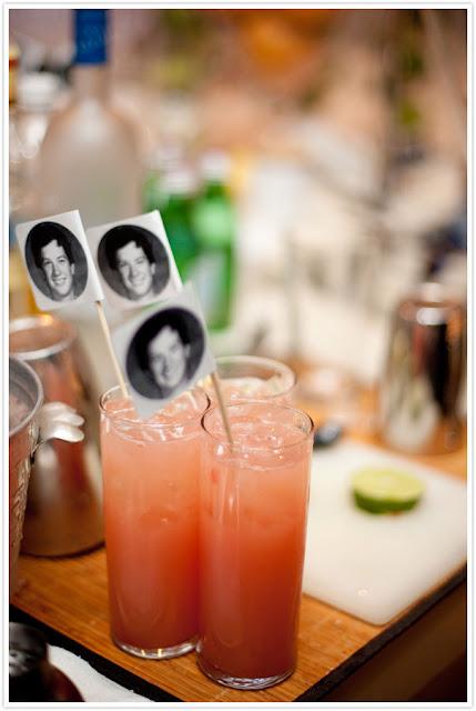 graduation craft ideas photo drink stirrer