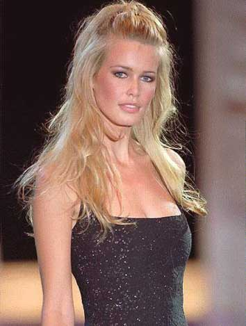 All top hollywood celebrities claudia schiffer biography and pictures