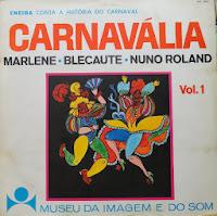 Capa do LP 'Carnavália' (MIS/1968)