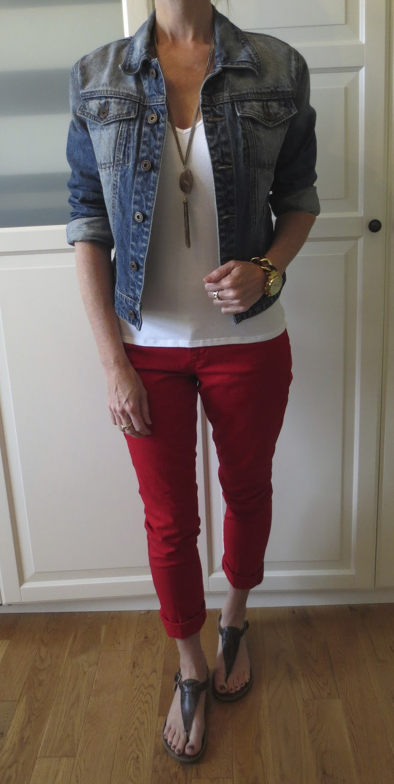 PJMu0026#39;s Closet Ways to Wear Red Jeans