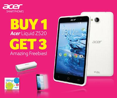 Acer Liquid Z520 Promo