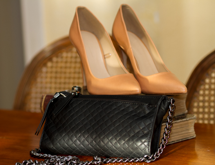 Sales shopping findings Zara Stilletos Rings Set and Mini Bag in quilted leather by Zara