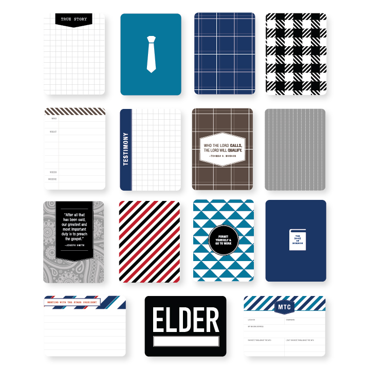 Kimberly Church || Project Life Missionary Edition- Elders