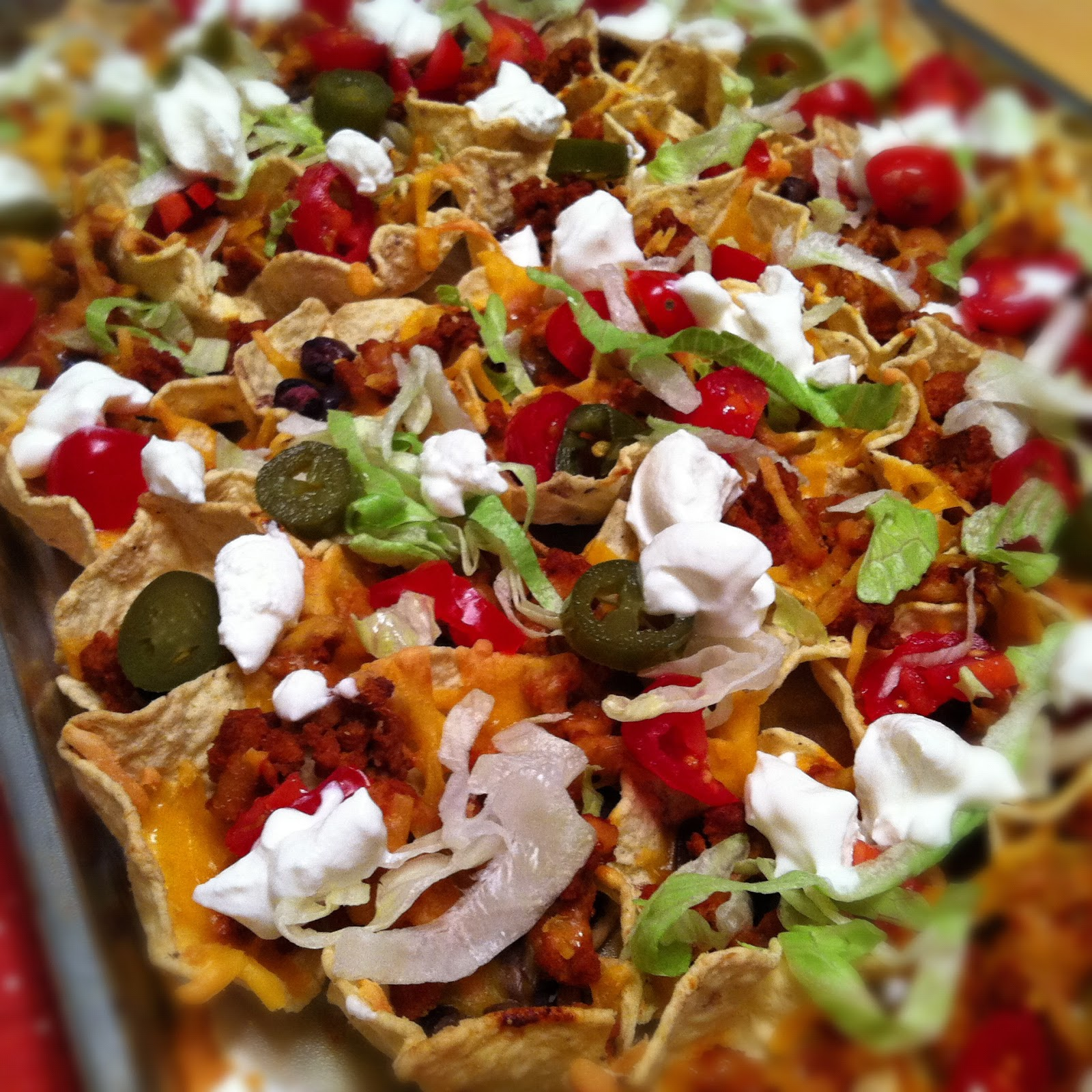 and cheese recipes skinny loaded nachos with turkey beans and cheese ...