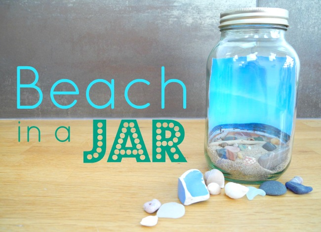 What Catey Made Next... | Beach in a Jar - My Own Mini Whitley Bay