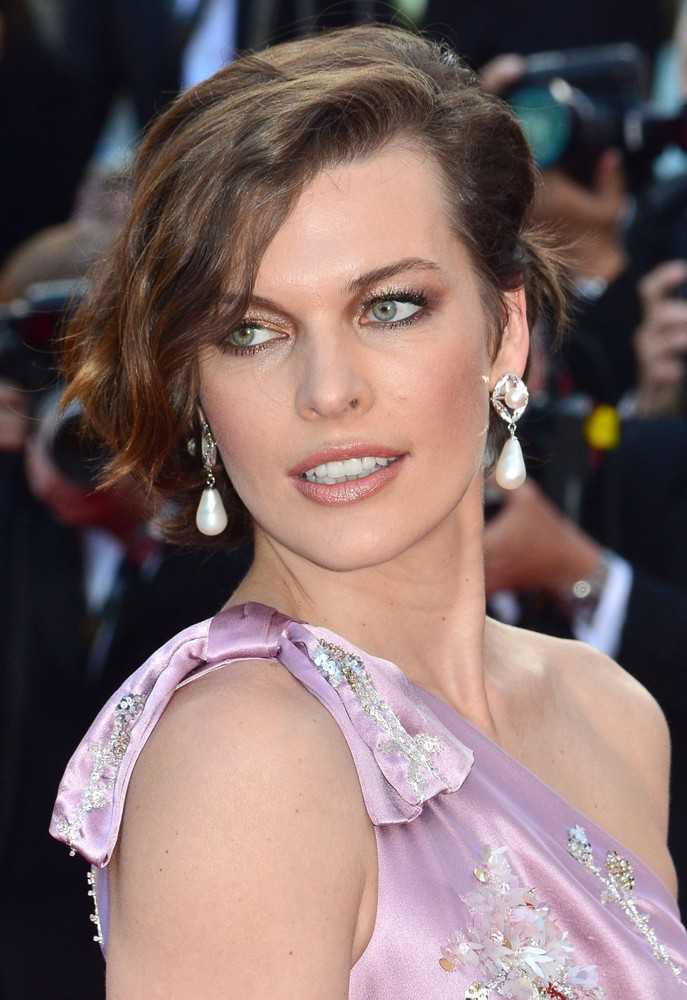 Milla Jovovich at Cannes 2012 Photo Gallery