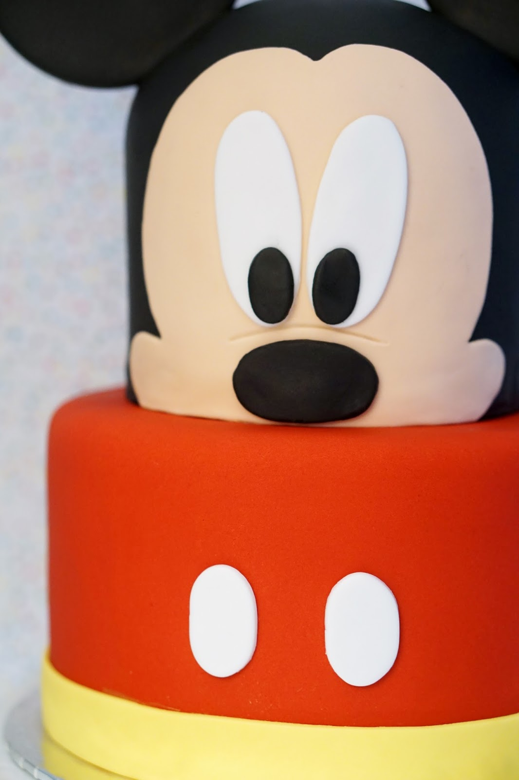 Mickey Mouse Face Template For 8 Inch Cake - Mickey Mouse Face ...