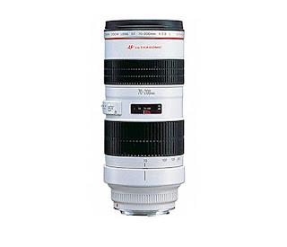 spesifikasi Lensa Canon 70-200mm f2.8 L USM