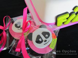 bolachas aniversário panda doces opções bragança