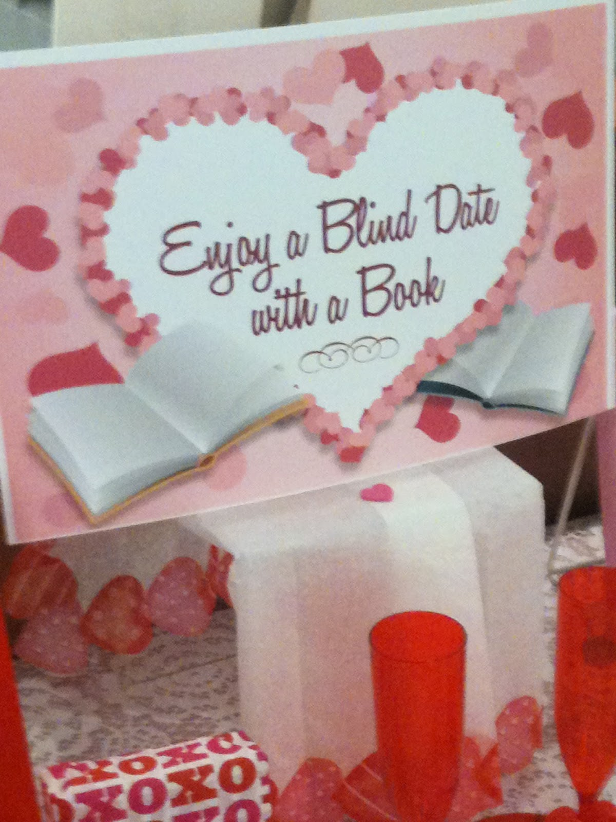 Miss Bibliophile Blind Date With A Book