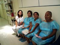 Los pacientes en espera de su cirugía