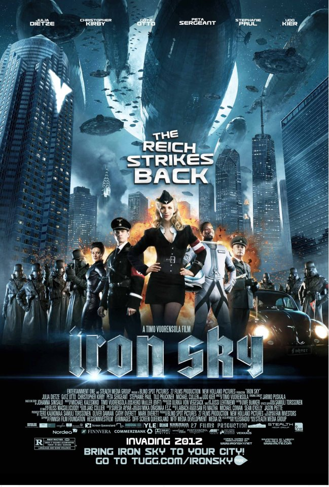 The Galaxy Junkyard: Movie Review: Iron Sky