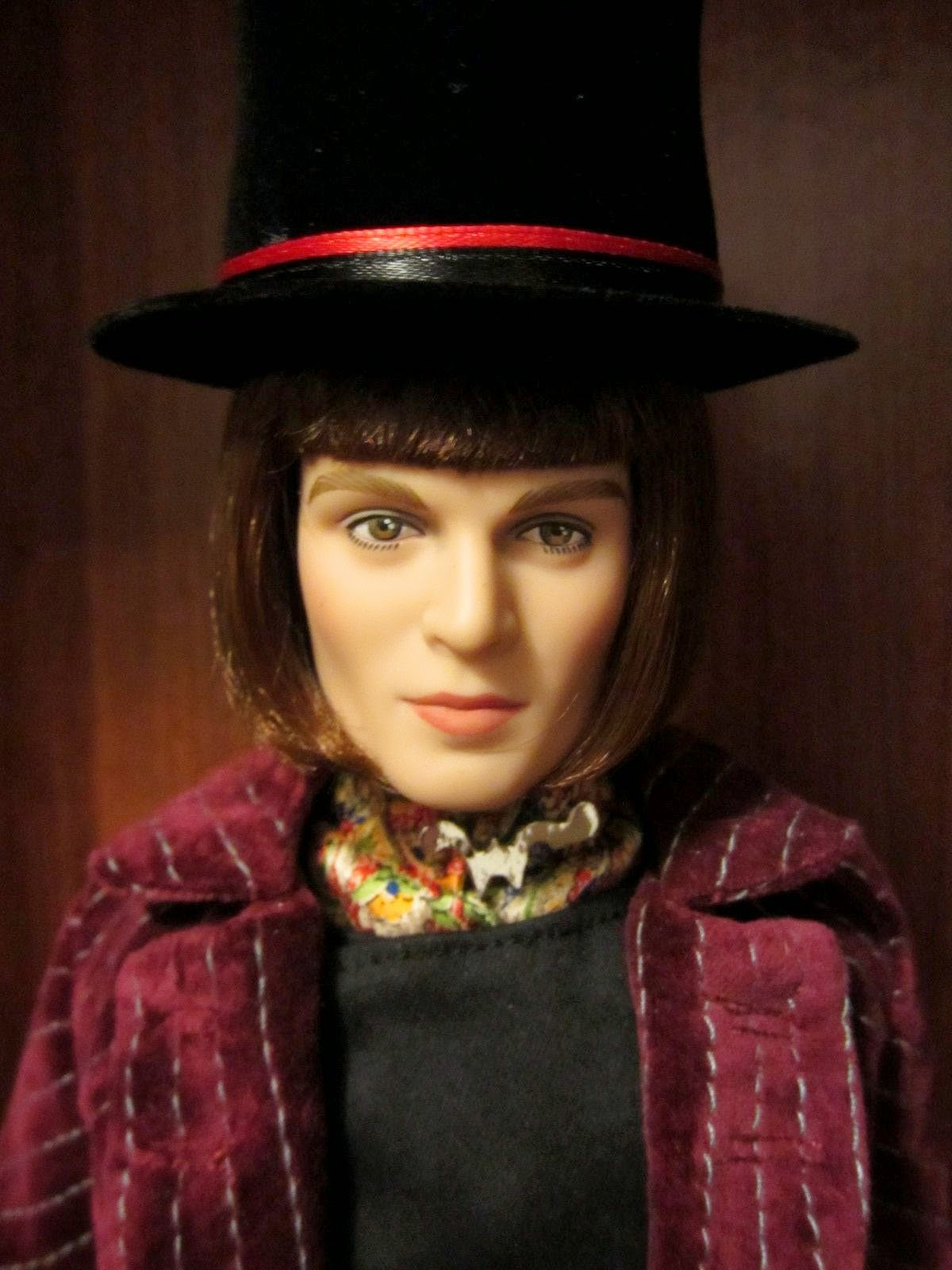 Charlie The Chocolate Factory Will Wonka Doll