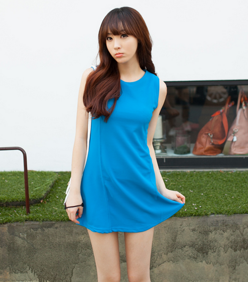 Kstylick Latest Korean Fashion K Pop Styles Fashion Blog 2fb Paneled Mini Dress