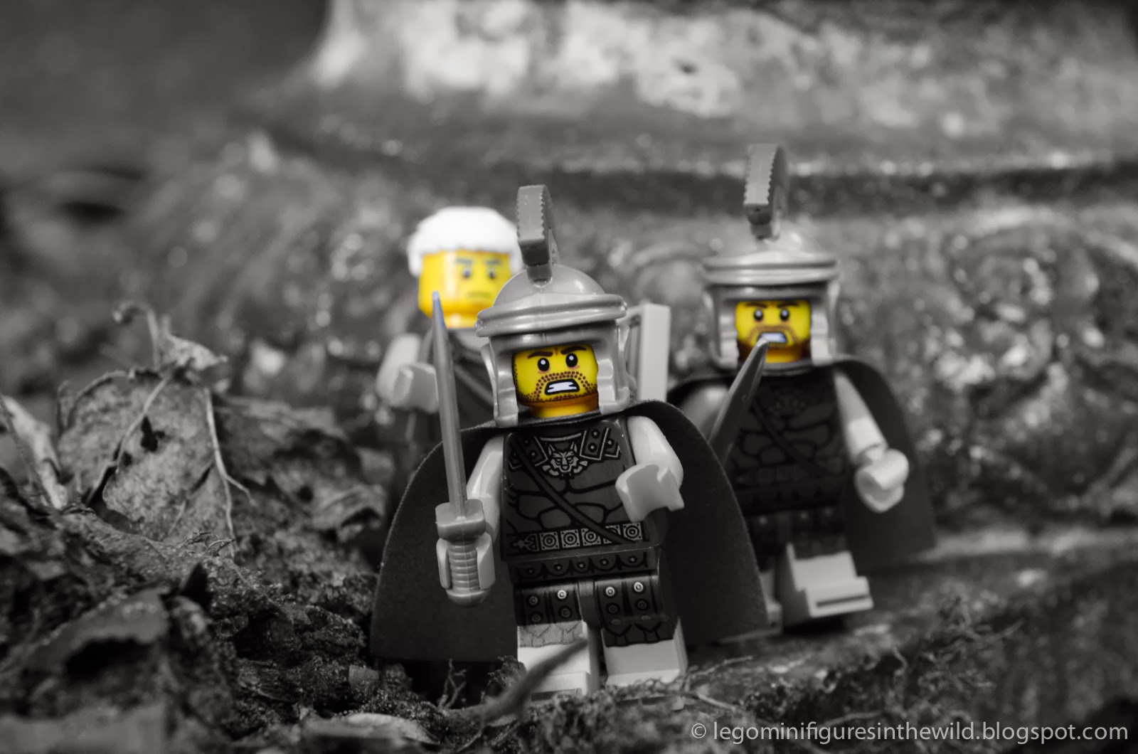 Lego Minifigures Series 10 Roman Commander - Wallpaper