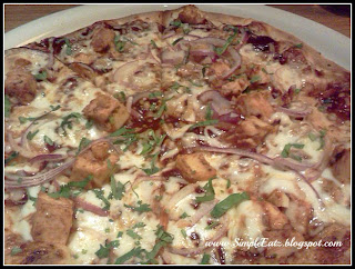 Picture of the Original BBQ Chicken Pizza
