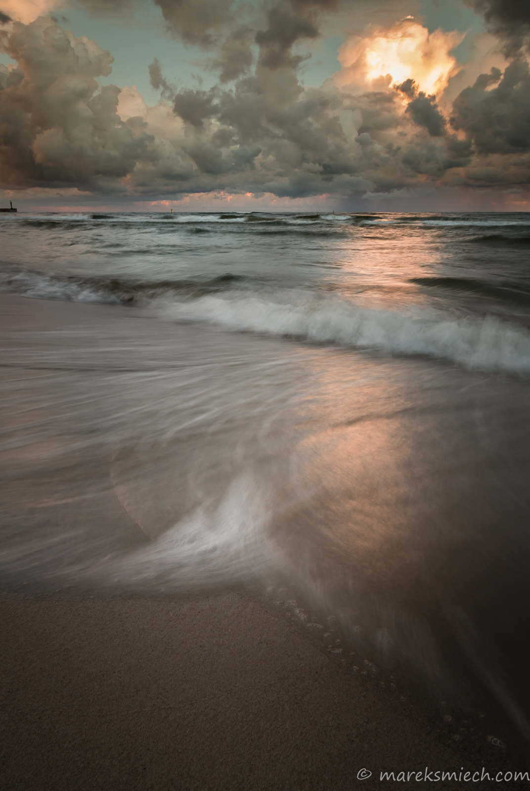 Łeba sunrise