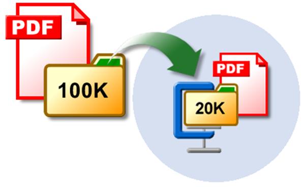 come ridurre file pdf