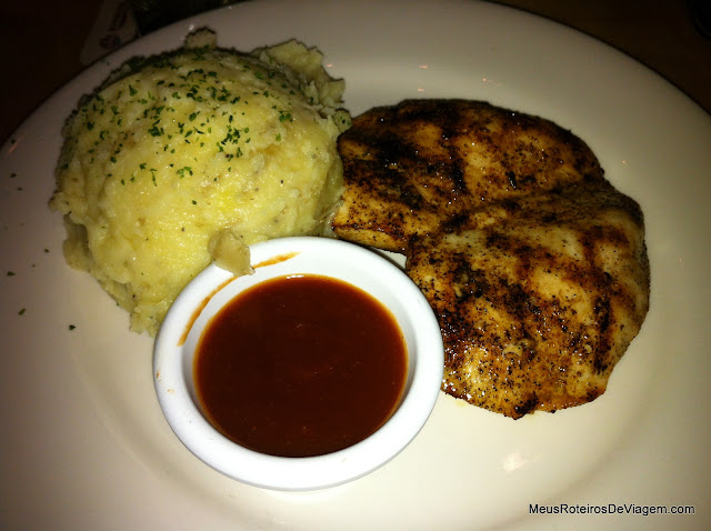 Chicken on the Barbie - Outback Steakhouse